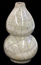 Ge-type Double Gourd Vase