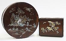 Two Vietnamese Mother-of-pearl Boxes