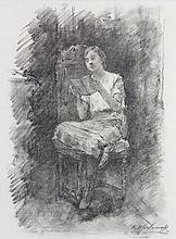 Drawing, Alexej Alexejewitsch Harlamoff