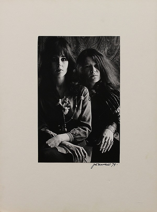 Jim Marshall, Janis Joplin and Grace Slick, photograph