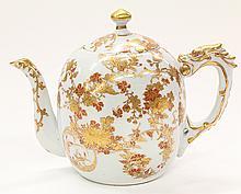 Japanese Dai Nippon Porcelain Teapot , Eiraku