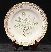 Flora Danica plate by Royal Copenhagen