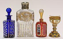 Bohemian art glass group