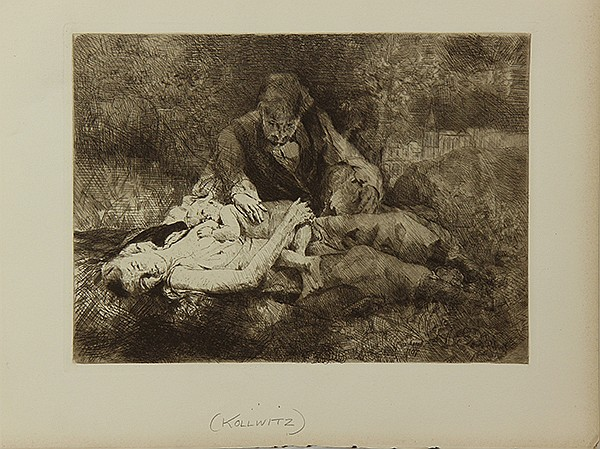Prints by Turner/ in the manner of Kollwitz