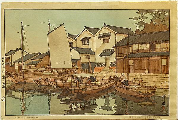Japanese Woodblock Prints, Yoshida Hiroshi