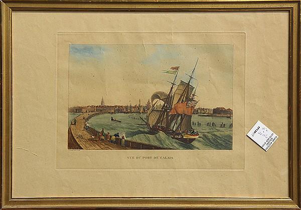 Print, Ambroise Louis Garneray