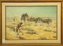 Painting, Austin Deuel