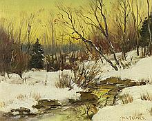 Painting, Attributed to Walter Launt Palmer