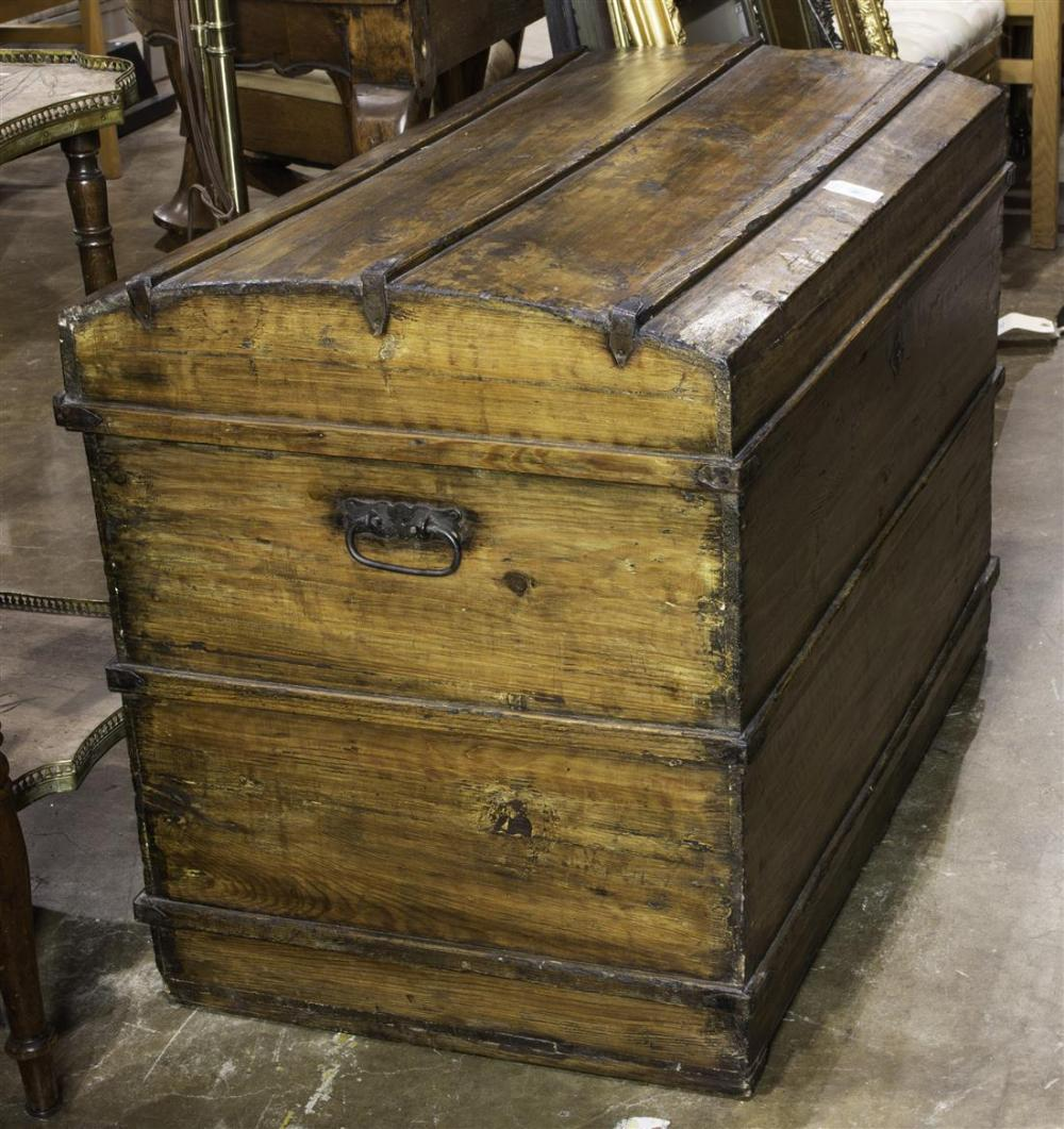 Continental Pine blanket chest circa 1900