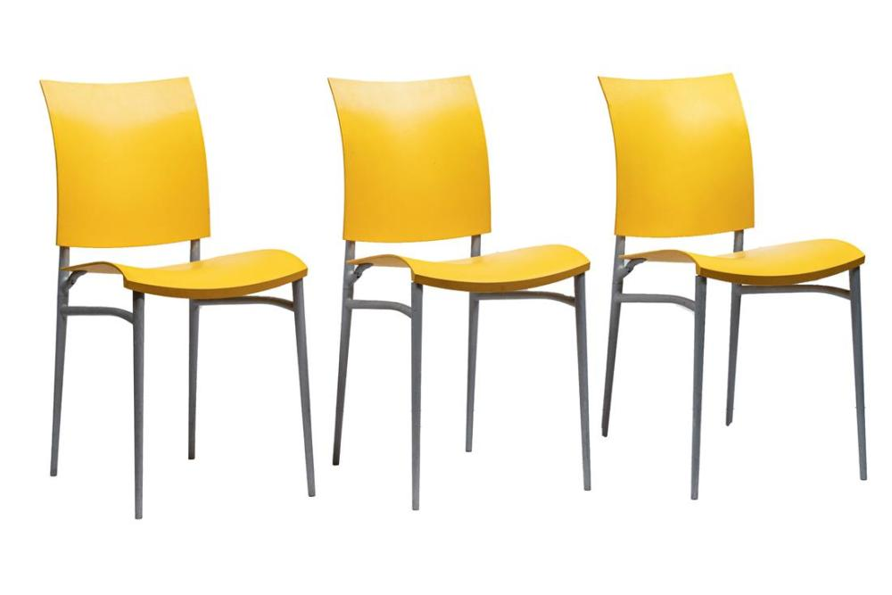 (lot of 3) Philippe Starck for Cassina folding chairs