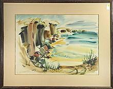 Watercolor, Lee Elyse Crouse Weiss