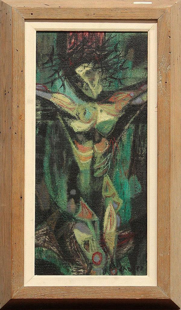 Painting, Edward Arcenio Chavez