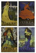 Vintage Travel Posters, Seville