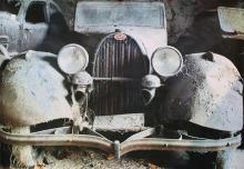 Bugatti Poster, Herbert W. Hesselman