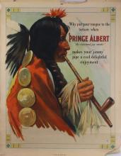 Prince Albert National Joy Smoke posters