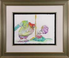 Watercolor, Chuck Jones, Bugs Bunny and Hassan Chop