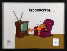 Sericel, Jim Davis, Garfield
