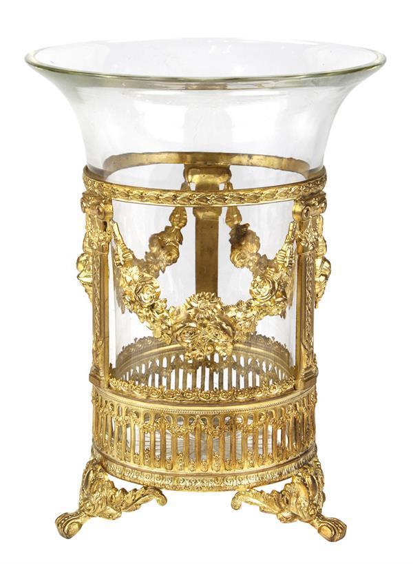 French Ormolu Mounted Vase