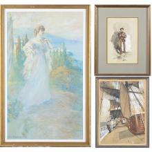 Works on Paper by William St. John Harper