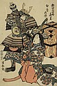 Japanese Woodblock Prints, Kuniyasu,  Kuniyasu, Click for value