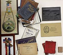 (lot of approximately 30)  Collection of Oakland historical ephemera, including The Old Canteen, Oakland Day, 20th N