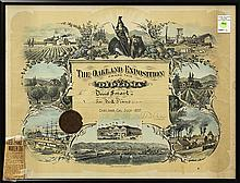 The Oakland Exposition lithograph