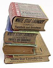 (lot of 4) Oakland, Berkeley, and Alameda City Directories, consisting of Polk's 1933 Directory, Husted's 1909 Directory, Giersberge.