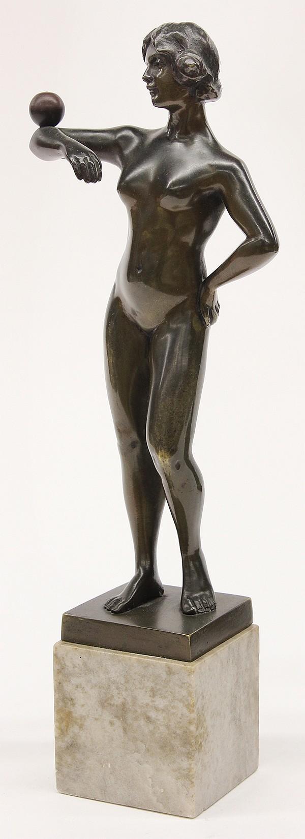 Bronze Sculpture, Spiro Schwatenberg