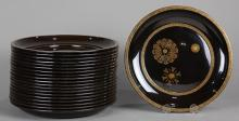 Japanese Black Lacquer Ware