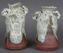 Pair of Modern Japanese Vases