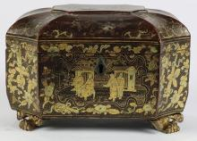 Chinese Export Lacquered Box