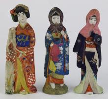 Japanese Clay/Ceramic Figures