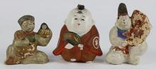 Japanese Old Clay Dolls