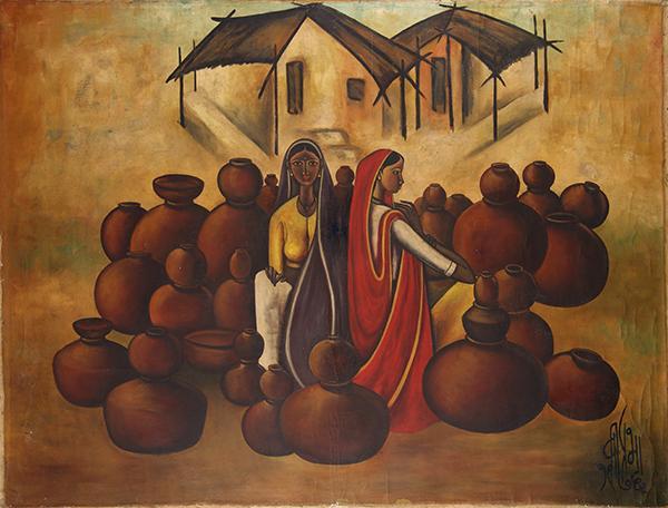 Oil Paintings By B Prabha