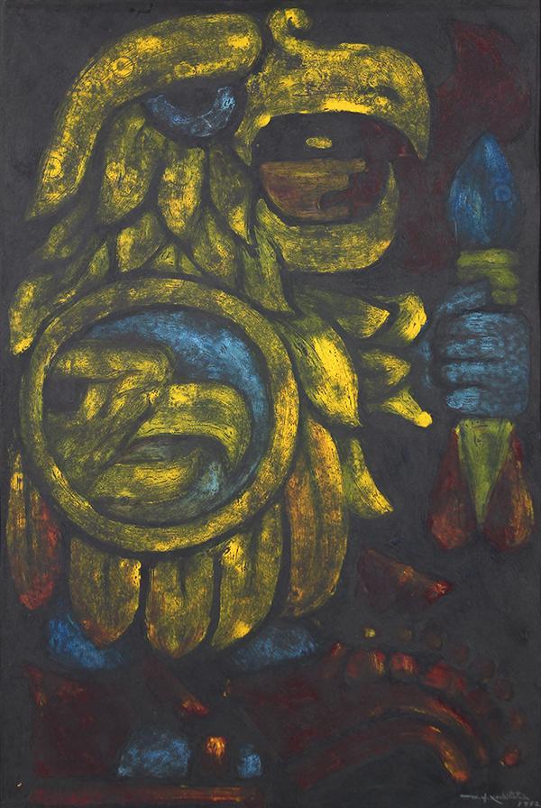 Painting, Desiderio Hernandez Xochitiotzin