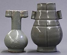 Chinese Guan-type Arrow Vases