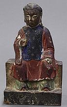 Chinese Wooden Figural Carving
