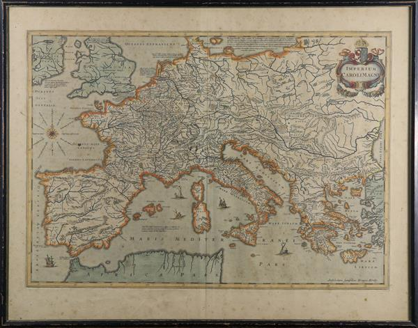 Hand-Colored copper engraved Maps