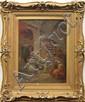 Painting, Herman Rohde, Orientalist Scene