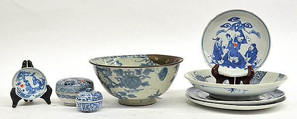 Chinese Underglazed Blue Porcelain