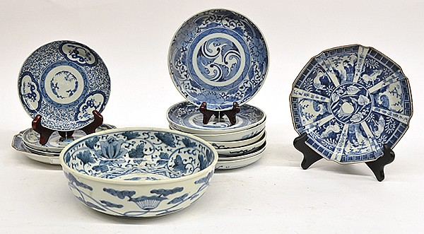 Japanese Arita Blue-and-White porcelain