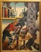 Painting, after Thomas Hart Benton