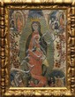 Painting, Mexican (Guadalupe) School, Madonna