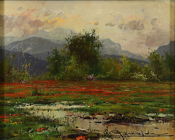 Painting, Elías Garralda