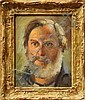 Painting, Vernon Kerr, Self Portrai, Vernon Kerr, Click for value