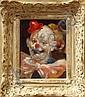 Paintins,Julian Ritter, Portraits of Clowns, Julian Ritter, Click for value