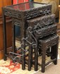 Set of Chinese Nesting Tables, Grapes