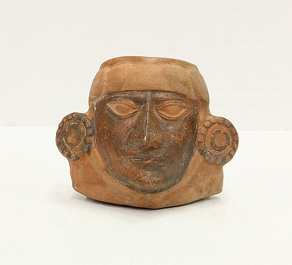 Portrait of a Lord/ Ruler, Mochica Culture, North Coast Peru