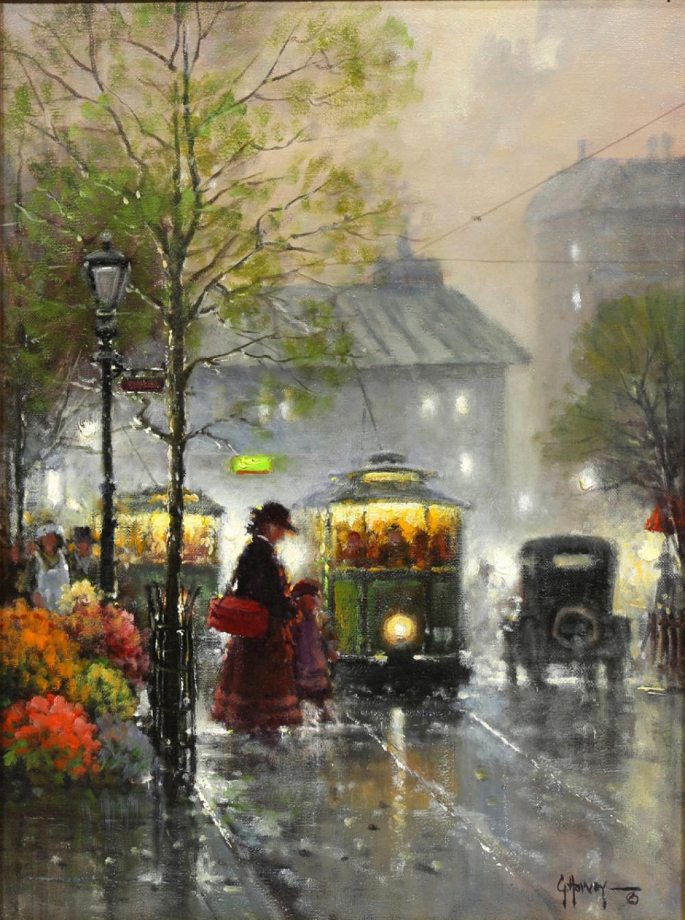 Sold Price Painting G Gerald Harvey Jones Harvey Invalid Date Pst