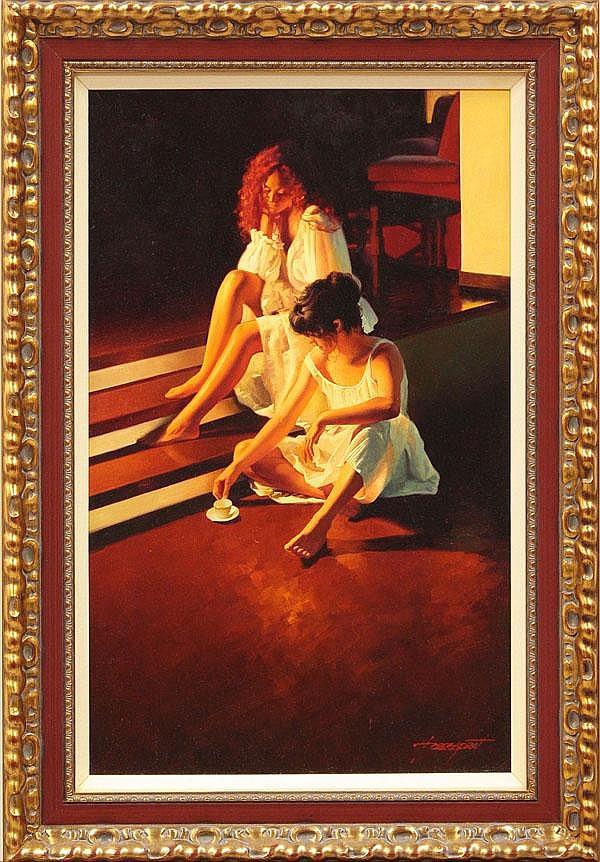 Painting, Enric Torres Prat, Te Deum